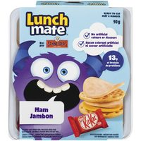 Schneiders Lunchmate Stackers or Snacks Kits or Maple Leaf Simply Natural Turkey or Ham Lunch Kits