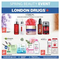 London Drugs - Spring Beauty Event Flyer