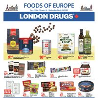 - Foods Of Europe Flyer