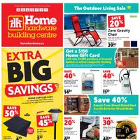 Home Hardware - Building Centre - The Outdoor Living Sale Flyer