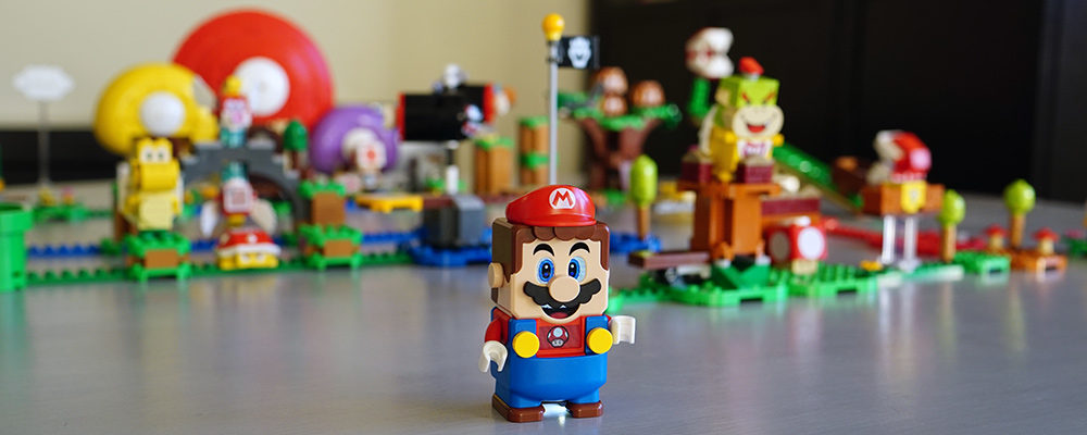 Hands on with LEGO Super Mario - An Epic Mash-Up of Two Childhood Faves