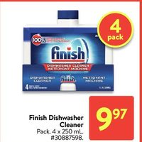 Finish Dishwasher Cleaner