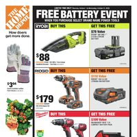 - Weekly - Free Battery Event Flyer
