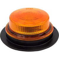 Evergear 12V LED Amber Low-Profile Beacon Light