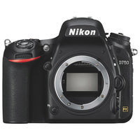 Nikon D750 Full-Frame DSLR Digital Camera - Body