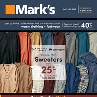 Mark's - 8 Days of Savings Flyer