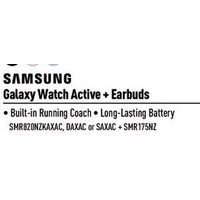 Samsung Galaxy Watch Active + Earbuds