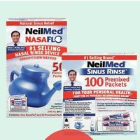 Neilmed Sinus Rinse Complete Rinse Care Products