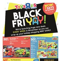 Toys R Us - Black Friyay! Flyer