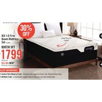 Serta Comfort Excellence ICX 1.0 Firm Queen Mattress Set
