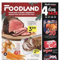 Foodland - Weekly Specials - Home Sweet Holidays Flyer