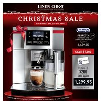Linen Chest - Christmas Sale Flyer