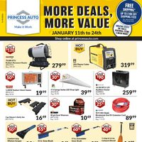 - January Clearance Event - More Deals, More Value Flyer