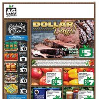 AG Foods - Weekly Specials - Dollar Days! Flyer