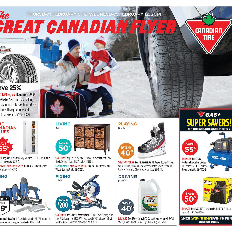 Canadian Tire Weekly Flyer Weekly Flyer Feb 6 12