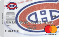 Montreal Canadians® MBNA Rewards Mastercard® Credit Card