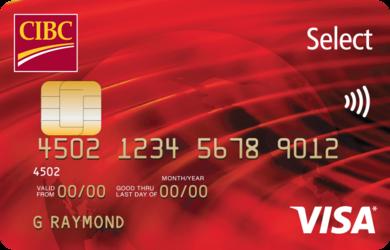 Compare cibc select visa card redflagdeals credit cards cibc select visa card reheart Images