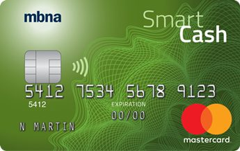 MBNA Smart Cash Platinum Plus® Mastercard®