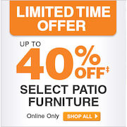 HomeDepot.ca: Save Up to 40% on Hampton Bay Patio Furniture + 4% Cash Back (Online Only)