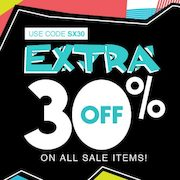 Stylexchange: Extra 30% Off Sale Items for a Limited Time