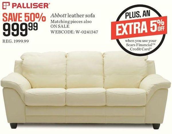 Palliser Abbott Leather Sofa Review Custom Los Angeles