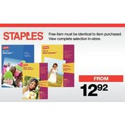 All Staples Photo Paper - From $12.92 (BOGO Free)