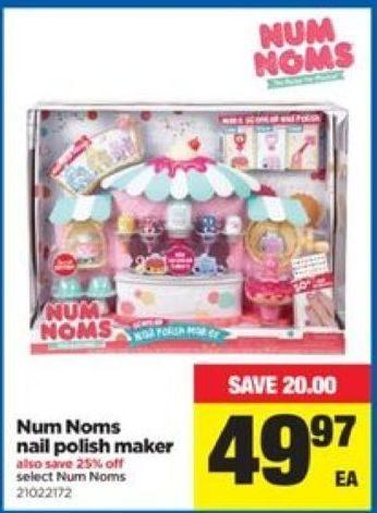 Num Noms Nail Polish Maker Toys R Us Creative Touch