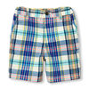 Toddler Boys Multicolor Plaid Woven Shorts - $6.00 ($16.95 Off)