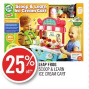 25% Off Leap Frog Scoop & Learn Ice Cream Cart