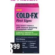 Cold FX First Signs Capsules - $18.99