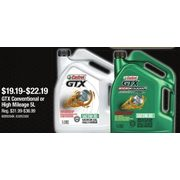 GTX Conventional or High Mileage  - $19.19-$22.19 (40% off)
