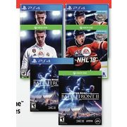 Select Xbox One and PS4 Games - $49.99 ($30.00 off)
