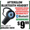 Afterglow Bluetooth Headset - $9.99