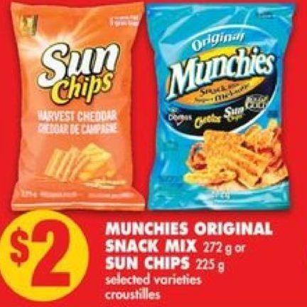 No Frills Munchies Original Snack Mix Sun Chips Redflagdealscom