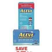 Aleve Tablets, Caplets or Liquid Gel Capsules - 15% off