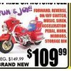 6v Ride-on Motorcycle - $109.99