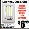 LED Wall Cob Light - $6.99