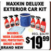 Maxkin Deluxe Exterior Car Kit - $19.99