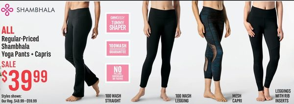 1ada8e56cd469 Mark's: All Shambhala Yoga Pants + Crisps - RedFlagDeals.com