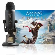 Amazon.ca: Get a Blue Yeti Condenser Microphone and Assassin's Creed Odyssey for $109.99 (regularly $212.71)