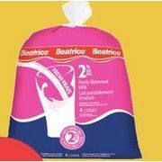 Beatrice Milk Skim, 1% or 2%  - $4.39