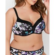 Déesse Collection - Butterfly Print Contour Flirt Bra Sizes G & H - $24.99 ($37.01 Off)