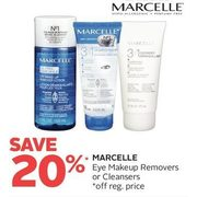 Marcelle Eye Makeup Removers or Cleansers - 20% off