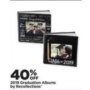 2019 Graduation Albums By Recollections - 40% off