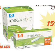 Organyc Tampons And Pads  - 15% off