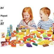Just Like And Busy Me 120-Piece Super Food Playset - $14.97 (40% off)