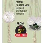 Planter Hanging Jute - $5.57 (30% off)