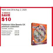 Pokemon Ultra Beasts GX Premium Collection - $29.99 ($10.00 off)