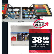126 Pc. Gift Art Set By Artist's Loft - $38.99