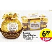 Ferrero Grand Rocher or Rocher T16 - $6.99
